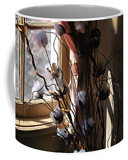 Willow And Cotton Coffee Mug by Kathryn Meyer