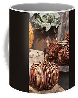 Willow Pumpkins Coffee Mug