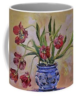 Wilting Tulips Coffee Mug