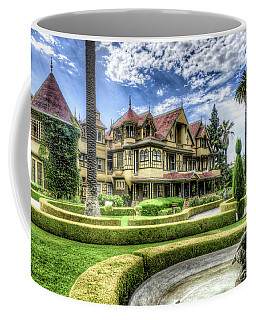 Coffee Mug featuring the photograph Winchester Mystery House by Jim Thompson