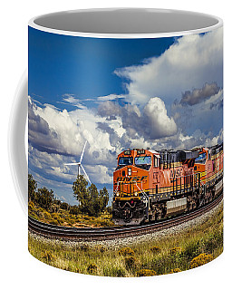 Wind And Rail Coffee Mug