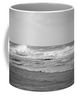 Wind Blown Waves Tofino Coffee Mug