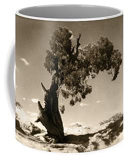 Wind Swept Tree Coffee Mug