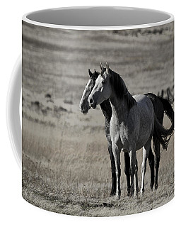 Coffee Mug featuring the photograph Windblown D3560 by Wes and Dotty Weber