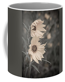 Windblown Wild Sunflowers Coffee Mug