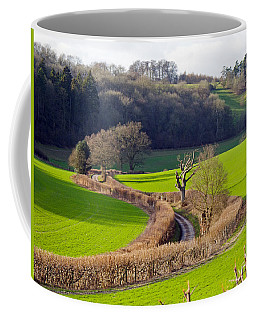 Winding Country Lane Coffee Mug