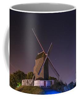 Windmill At Night Coffee Mug