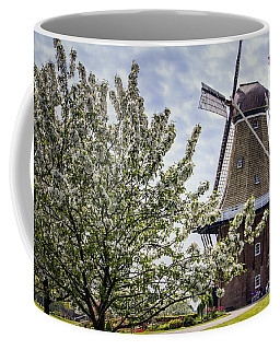 Windmill At Windmill Gardens Holland Coffee Mug