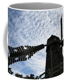 Windmill On A Cloudy Day Coffee Mug