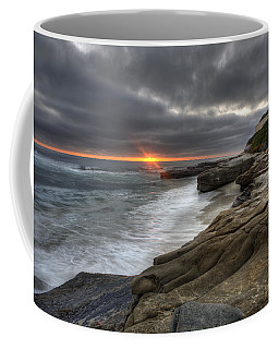 Windnsea Fence Coffee Mug