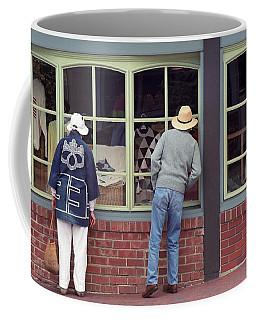 Window Shoppers Coffee Mug