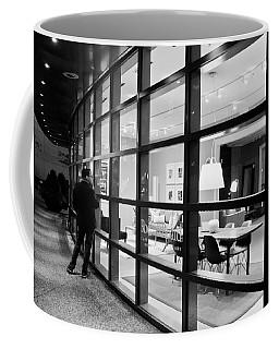 Window Shopping In The Dark Coffee Mug