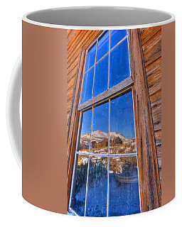 Coffee Mug featuring the photograph Window To Bodie by Beth Sargent