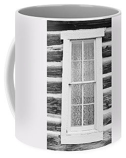 Coffee Mug featuring the photograph Window To The Old West by Diane Alexander