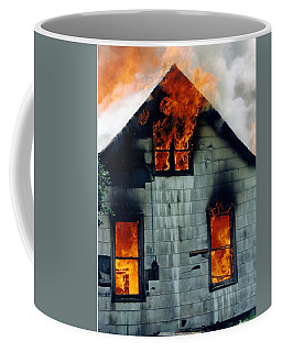 Windows Aflame Coffee Mug