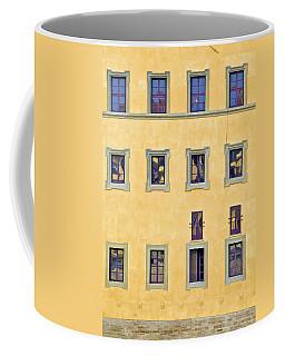 Windows Of Florence Coffee Mug