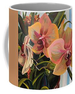 Windowsill Orchids Coffee Mug