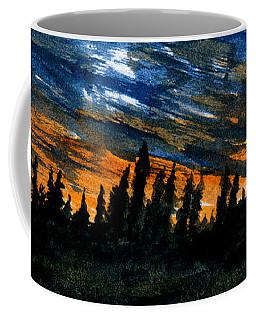 Windstorm At Dusk Coffee Mug