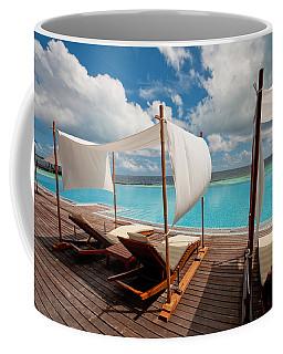 Windy Day At Maldives Coffee Mug