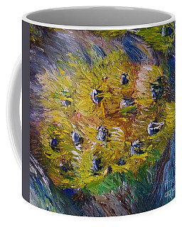 Coffee Mug featuring the painting Windy by Laurie Lundquist