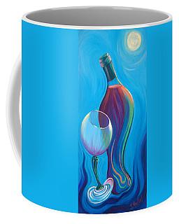 Coffee Mug featuring the painting A Wine Affair by Sandi Whetzel