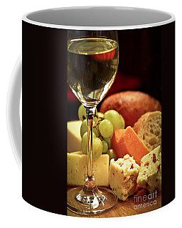 Wine And Cheese Coffee Mug
