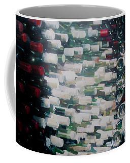 Wine Cellar, 2012 Acrylic On Canvas Coffee Mug