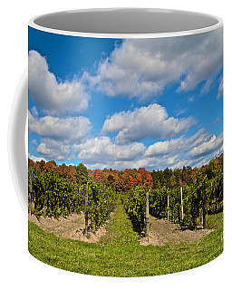 Coffee Mug featuring the photograph Wine In Waiting by William Norton
