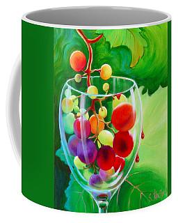 Wine On The Vine IIi Coffee Mug by Sandi Whetzel
