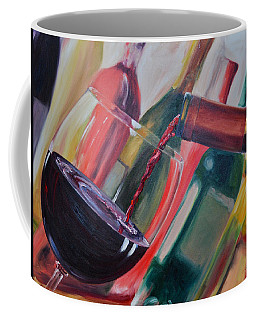 Wine Pour IIi Coffee Mug by Donna Tuten