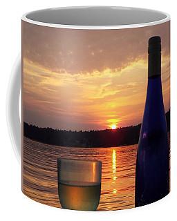 Wine Water Sunset Coffee Mug