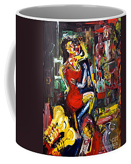 Wine Woman And Music Coffee Mug