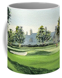 Winged Foot West Golf Course 18th Hole Coffee Mug