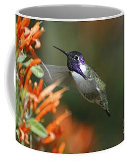 Coffee Mug featuring the photograph Winged Jewelry by Wilma  Birdwell