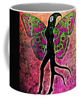 Coffee Mug featuring the digital art Wings 11 by Maria Huntley