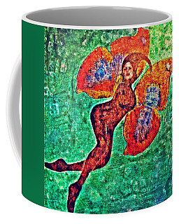 Coffee Mug featuring the digital art Wings 12 by Maria Huntley