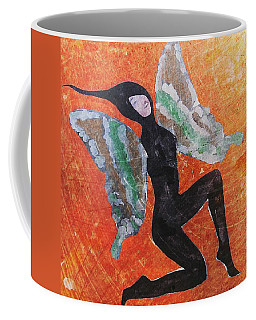 Coffee Mug featuring the digital art Wings 4  by Maria Huntley
