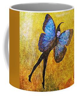 Coffee Mug featuring the digital art Wings 5  by Maria Huntley