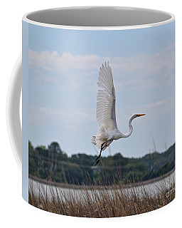 Coffee Mug featuring the photograph Wings by Carol  Bradley