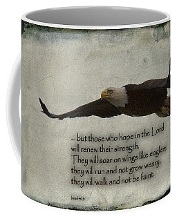 Wings Like Eagles Coffee Mug