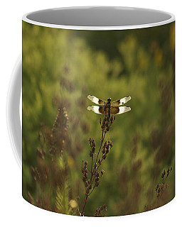 Coffee Mug featuring the photograph Wings Of Light - Dragonfly by Jane Eleanor Nicholas