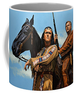Winnetou And Old Shatterhand Coffee Mug