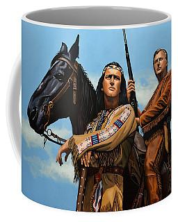 Winnetou And Old Shatterhand Coffee Mug