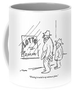 Winning Is Crucial To My Retirement Plans Coffee Mug