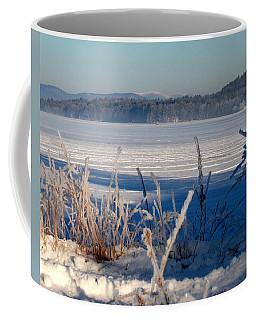 Winnisquam Winter Coffee Mug by Mim White