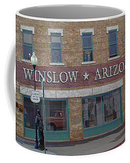 Winslow Arizona Coffee Mug