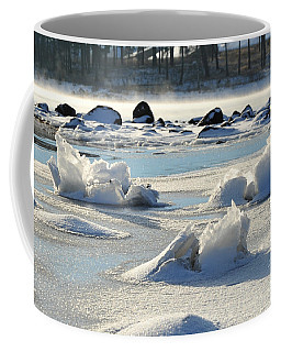 Coffee Mug featuring the photograph Winter Art by Randi Grace Nilsberg