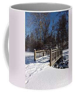 Winter At Creekside Coffee Mug