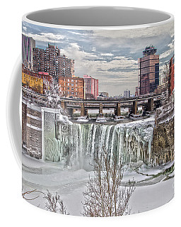 Winter At High Falls Coffee Mug