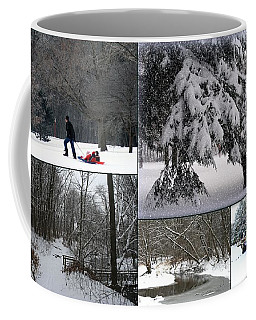 Coffee Mug featuring the photograph Winter At Petrifying Springs Park by Kay Novy